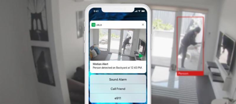 Az Arlo mesterséges intelligenciával és video analitikával még pontosabb információkat és személyre szabott értesítéseket biztosít az Arlo Smart Home rendszerben