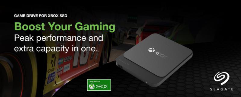 Bővítsd ki Xbox konzolod kapacitását az új Seagate 2TB Game Drive For Xbox SSD-vel!