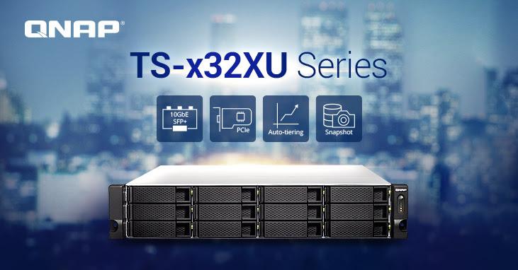 A QNAP frissítette a sokoldalú SMB rackbe szerelhető NAS-sorozatát a TS-x32XU adattárolóval, ami továbbfejlesztett teljesítménnyel és funkcionalitással támogatja a költséghatékony megoldásokat