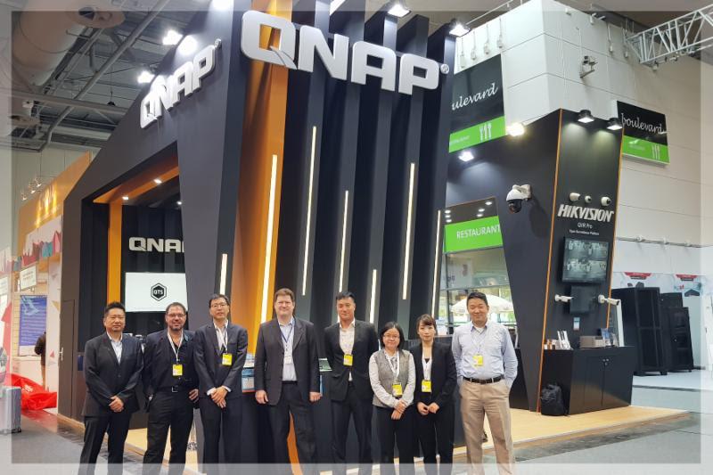 QNAP a CeBIT 2018 kiállításon számos élvonalbeli tárolót, hálózati és számítási megoldásokat mutat be