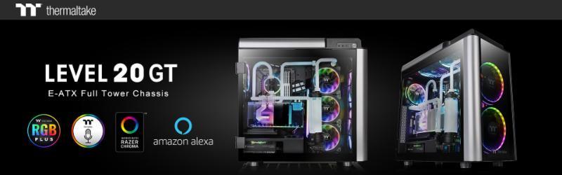 A Thermaltake bemutatja az új Level 20 GT RGB Plus Edition és a Level 20 GT Edition teljes toronyházakat