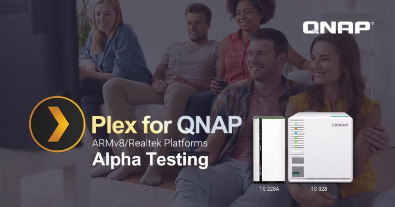 Megkezdődött a Plex for QNAP ARMv8 és Realtek alfa tesztelési fázisa