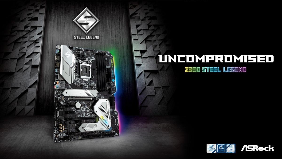 Az ASRock bővíti a Steel Legend sorozatot az új Z390 alaplappal