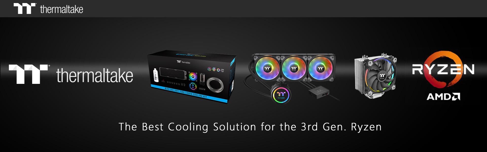 A Thermaltake hűtési megoldásai támogatják a legújabb AMD processzorokat