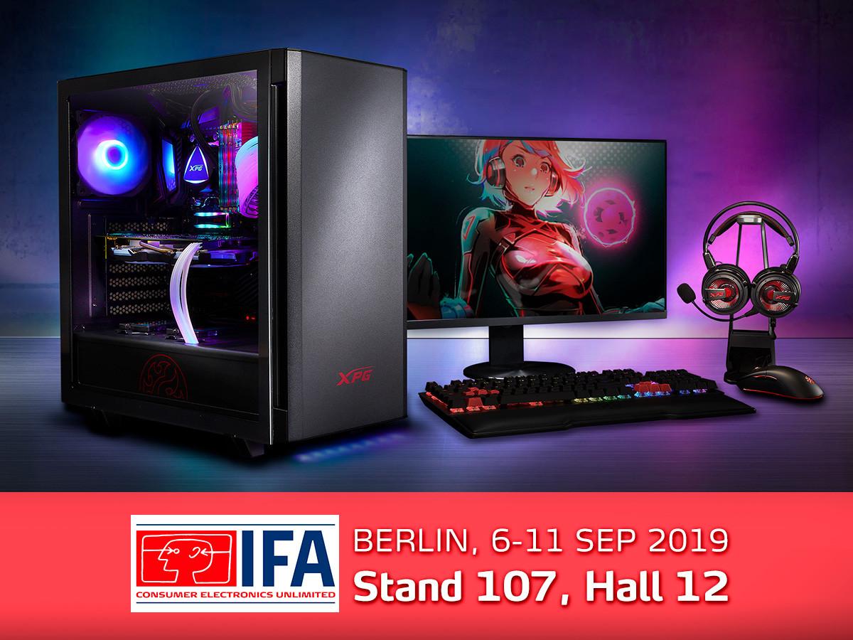 Az XPG bemutatja a világ első 4D gaming egerét és az új Mera Edition gaming eszközöket a berlini IFA 2019 kiállításon