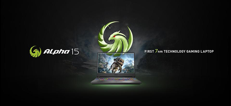 Az MSI bemutatta az új ALPHA sorozatot, az első 7nm-es technológiára épülő gaming laptopot