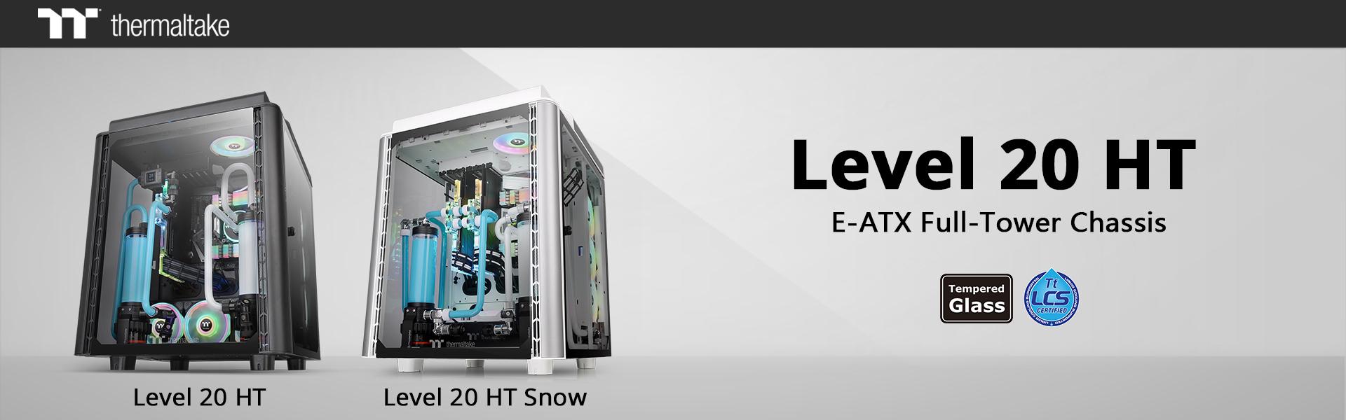 Thermaltake Level 20 HT/HT Snow Edition  teljes méretű toronyház
