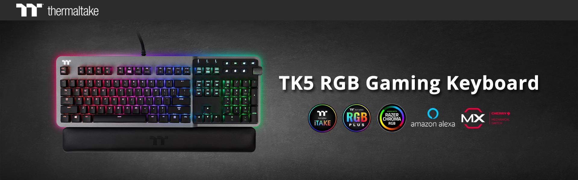 Bemutatkozott a TK5 RGB gaming billentyűzet, a TM5 RGB és a TM5 RGB vezeték nélküli gaming egér